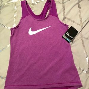 Nike Pro Dri-Fit Girls Tank Top, Size M